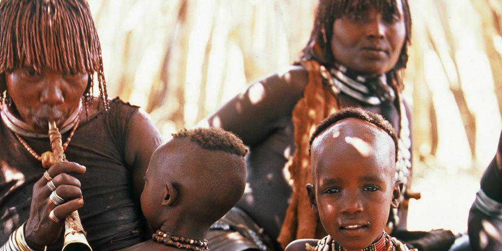 Omo Valley, Ethiopia Hamer tribe