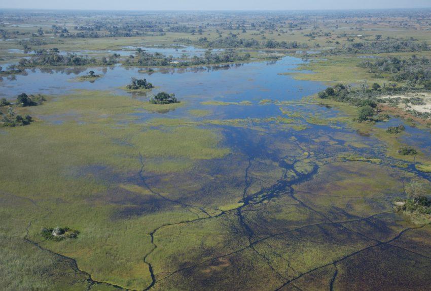 Botswana-Okavango-Delta-Aerial