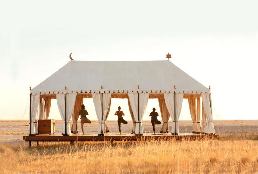 21San Camp - Yoga Tent