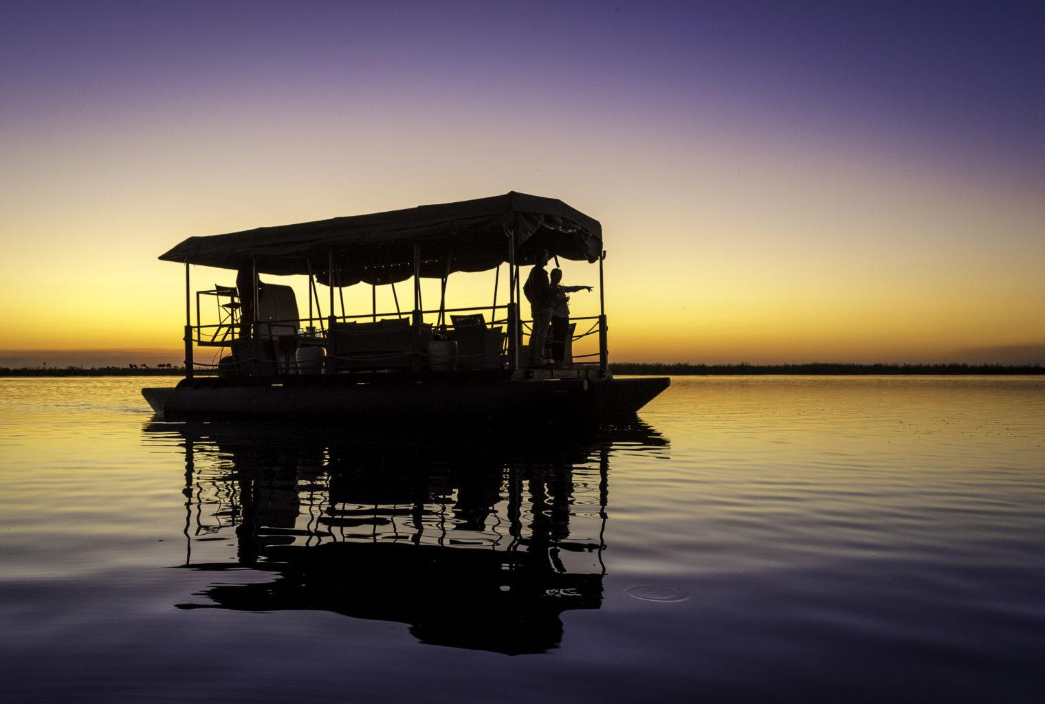 Duma-Tau-Lodge-Botswana-Boat