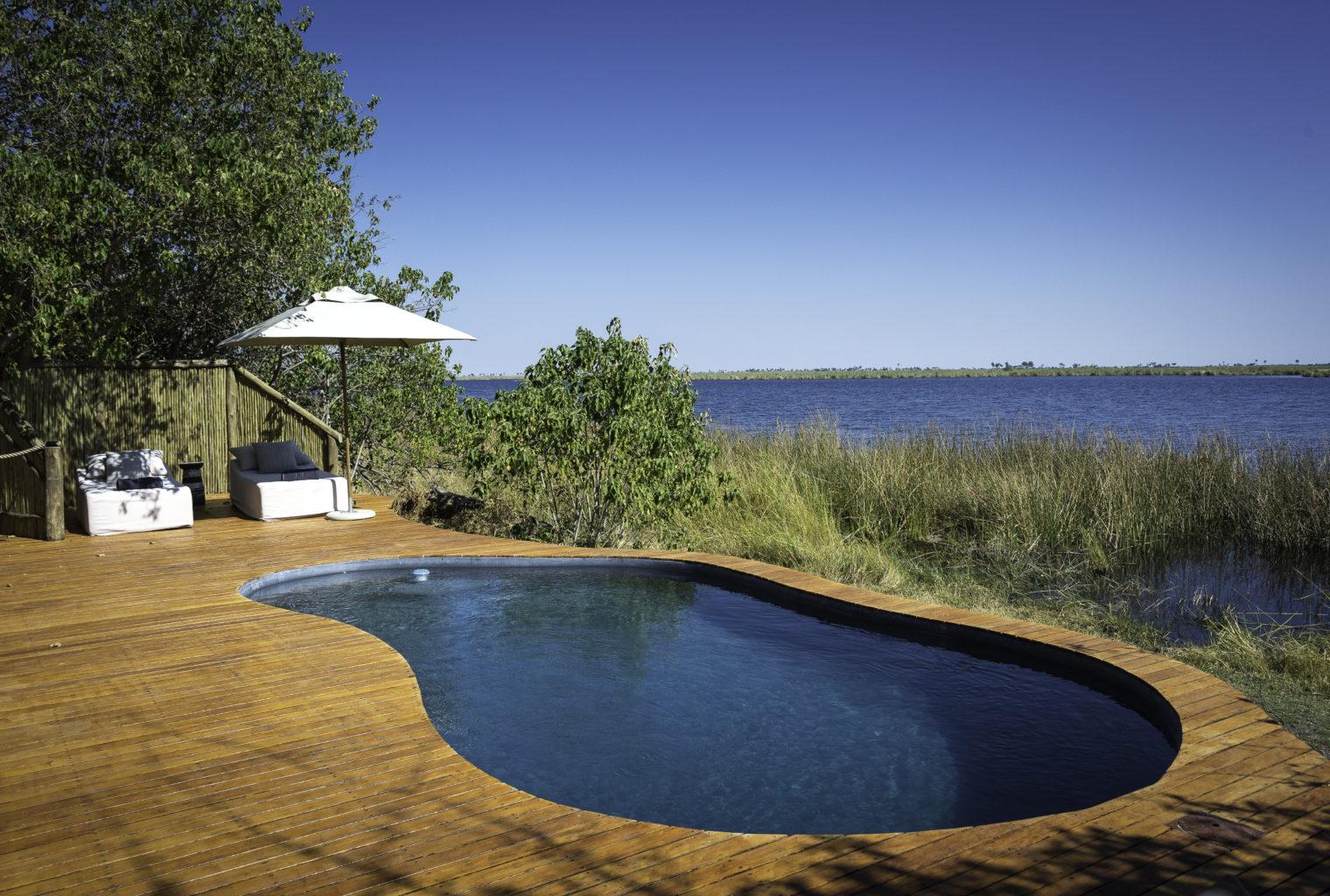 Duma Tau Lodge Botswana Pool