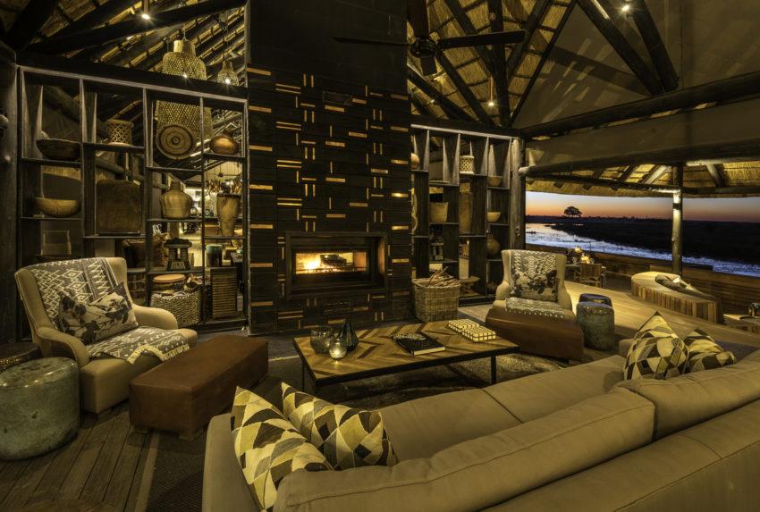 Botswana-Kings-Pool-Lounge-Fireplace