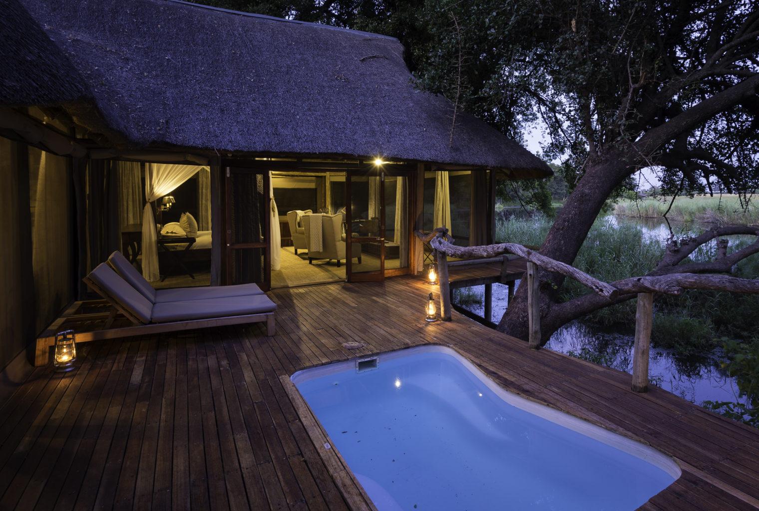 Kings Pool Camp Botswana Pool