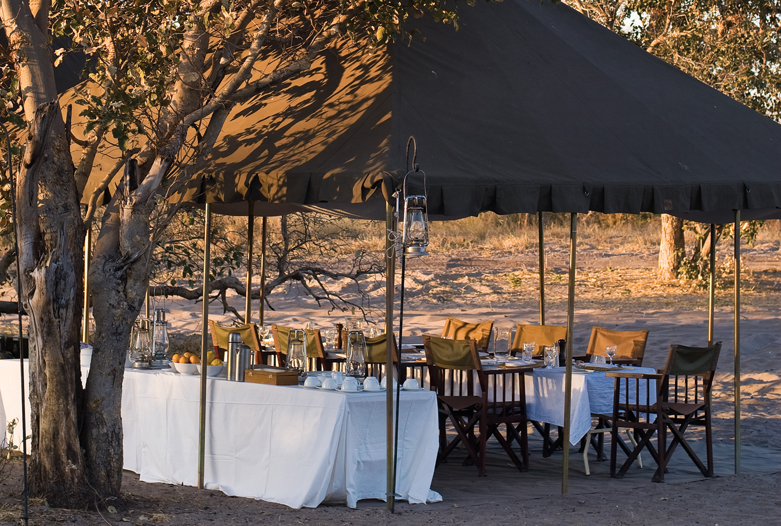 and-Beyond-Under-Canvas-Outside-Dining