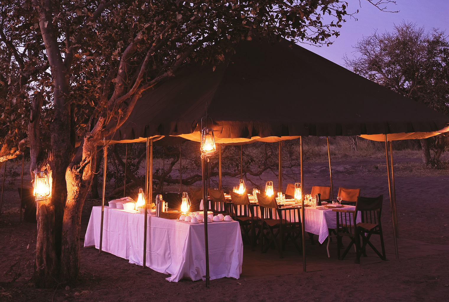 and-Beyond-Under-Canvas-Sunset-Dining