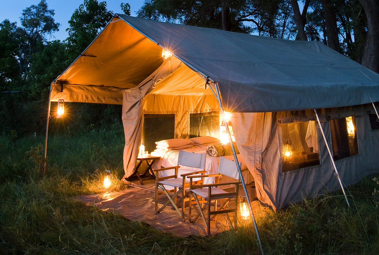 and Beyond Under Canvas Tent