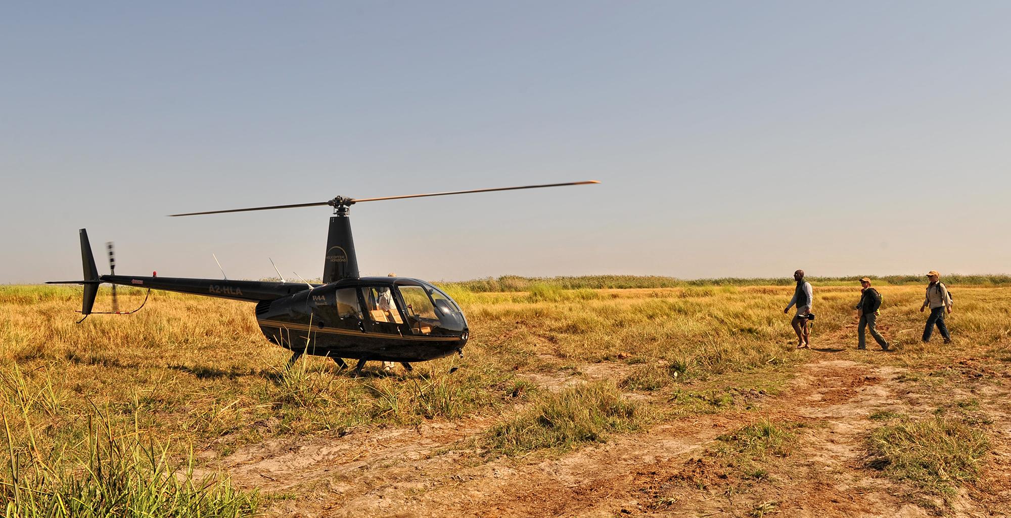 Botswana-Chobe-Enclave-Helicopter