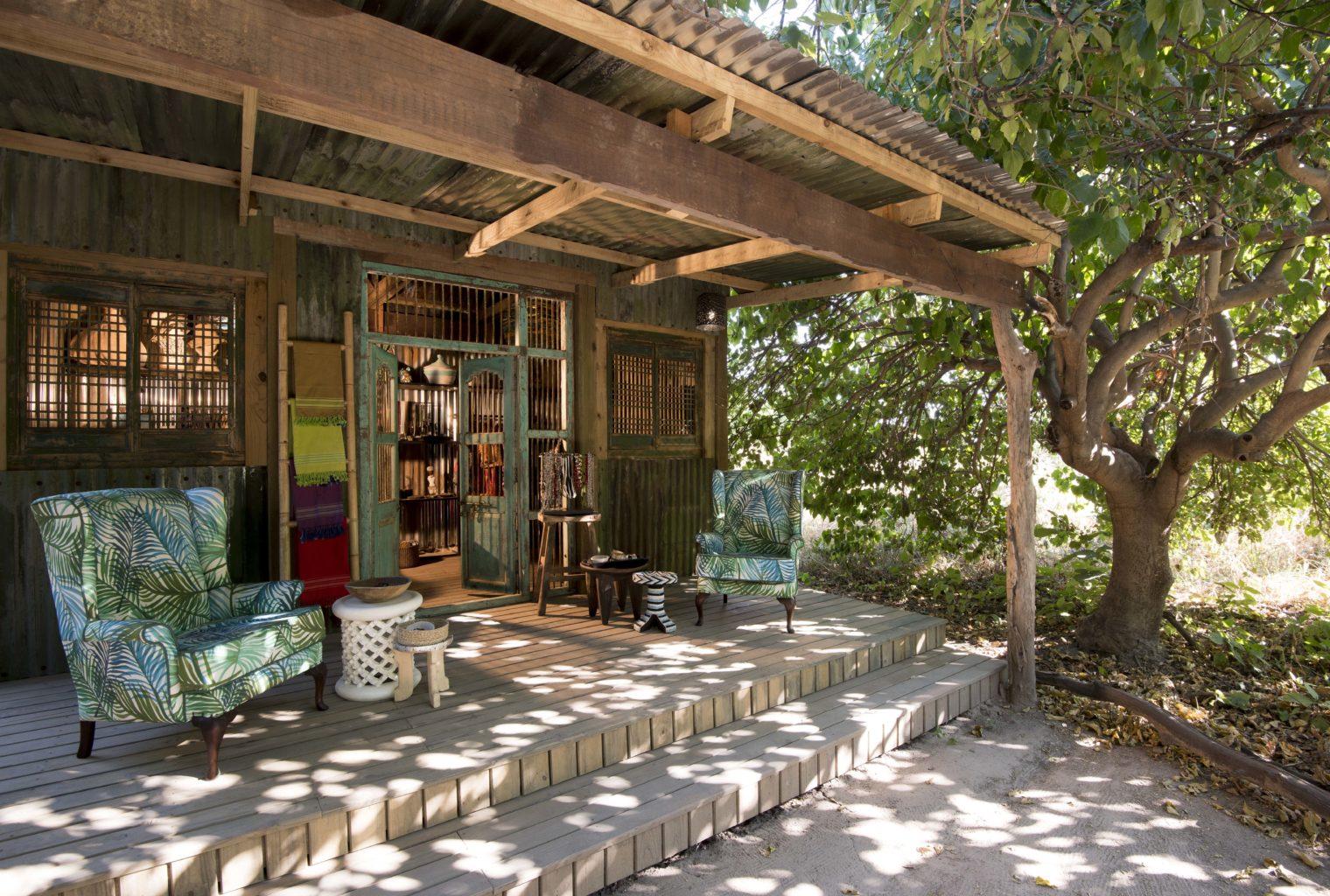 Linyanti Bush Camp Botswana Deck