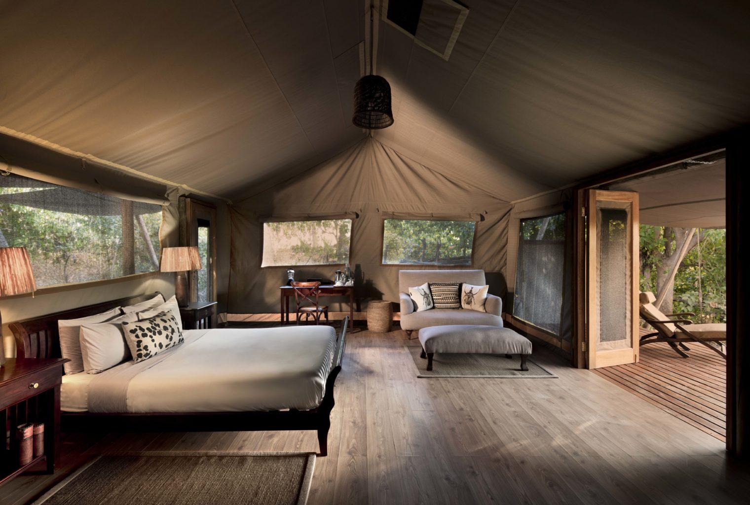 Linyanti Bush Camp Botswana Bedroom