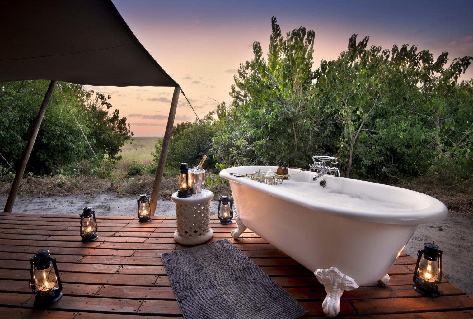 Linyanti Bush Camp Botswana Bathroom