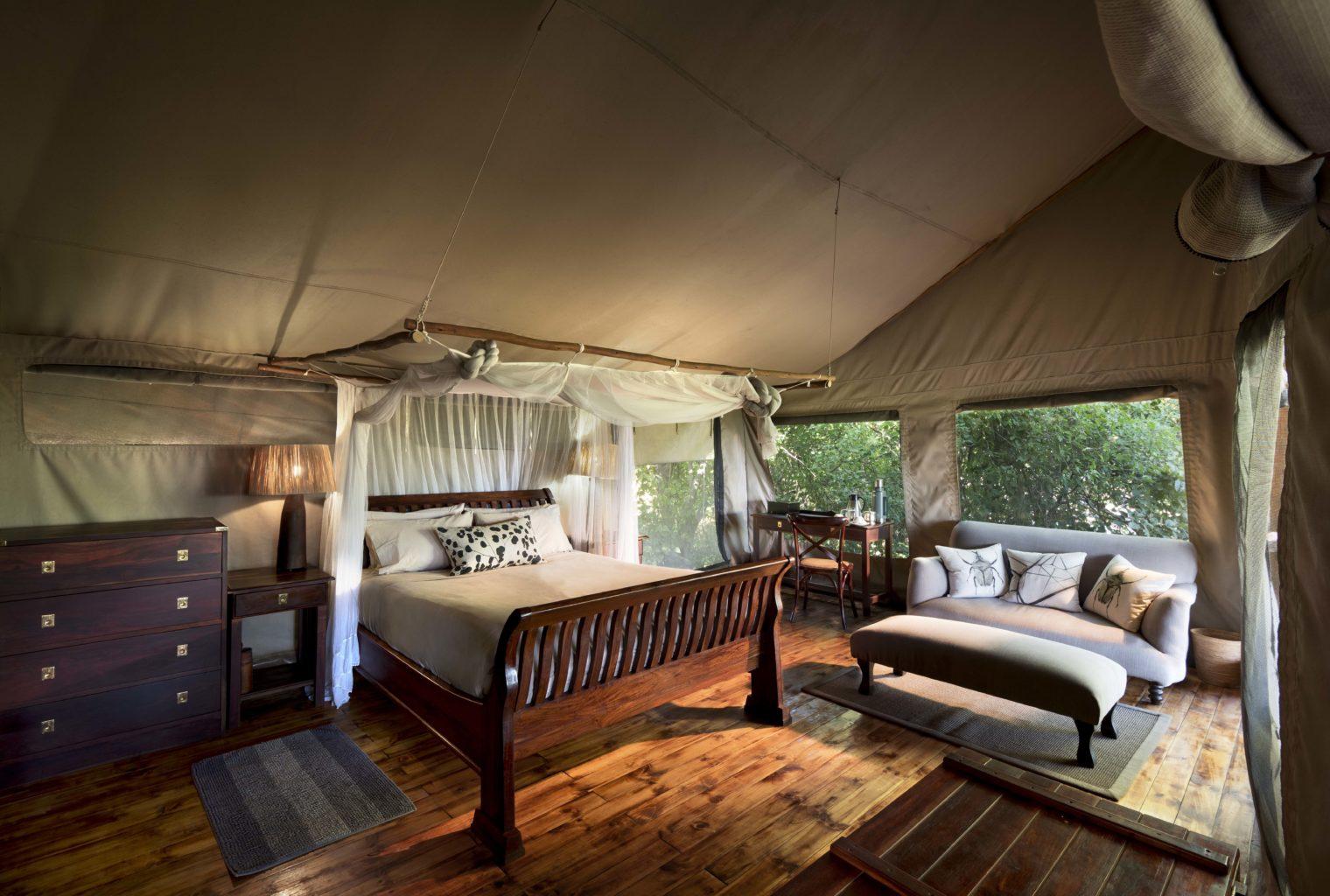 Linyanti Ebony Camp Bedroom