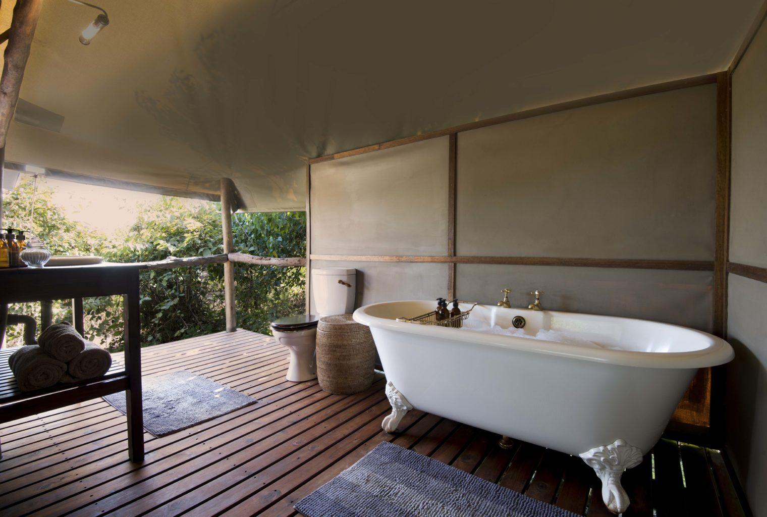 Linyanti Ebony Camp Bathroom