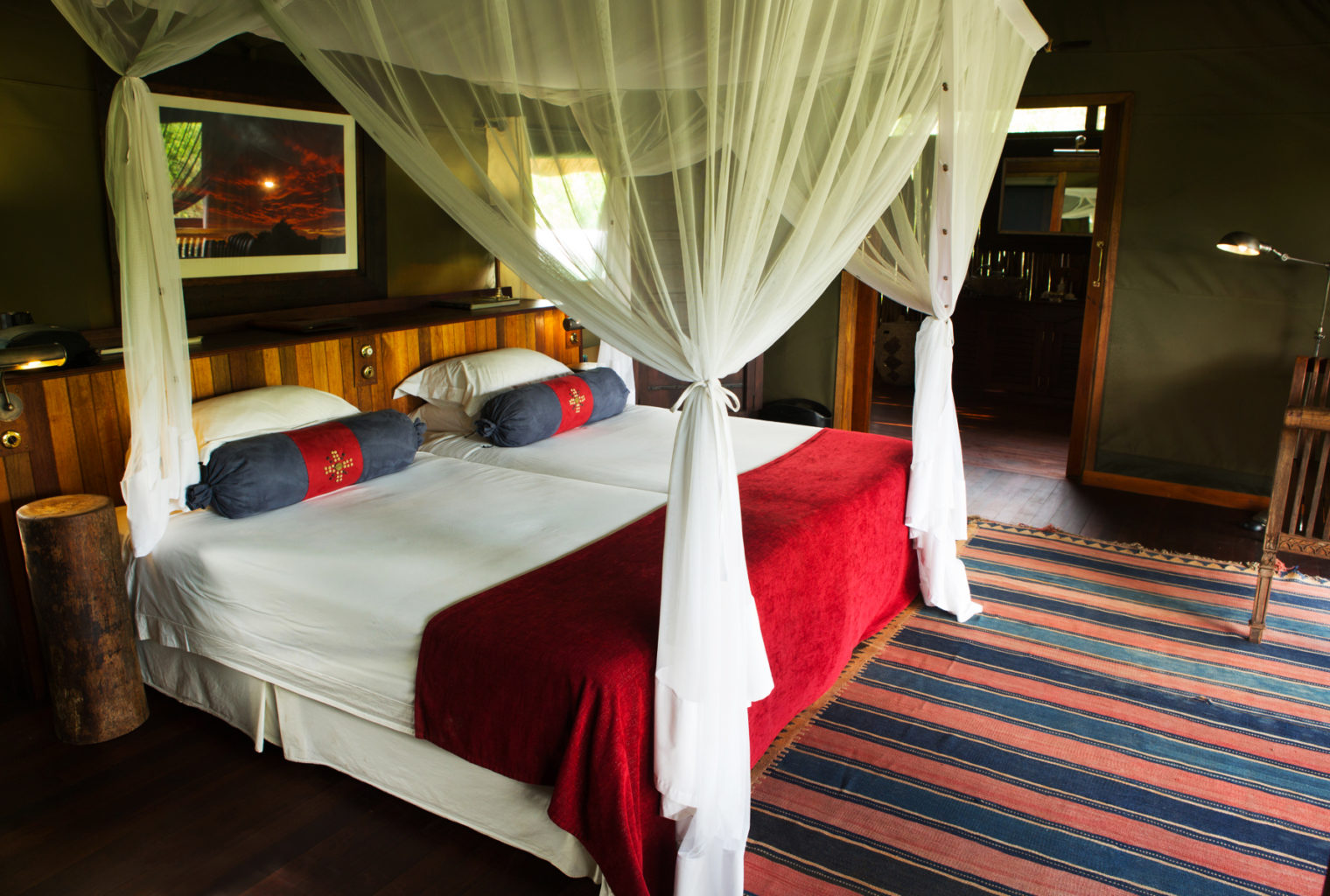 Selinda Camp Botswana Bedroom
