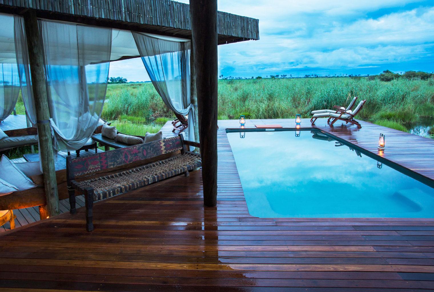 Selinda Camp Botswana Pool