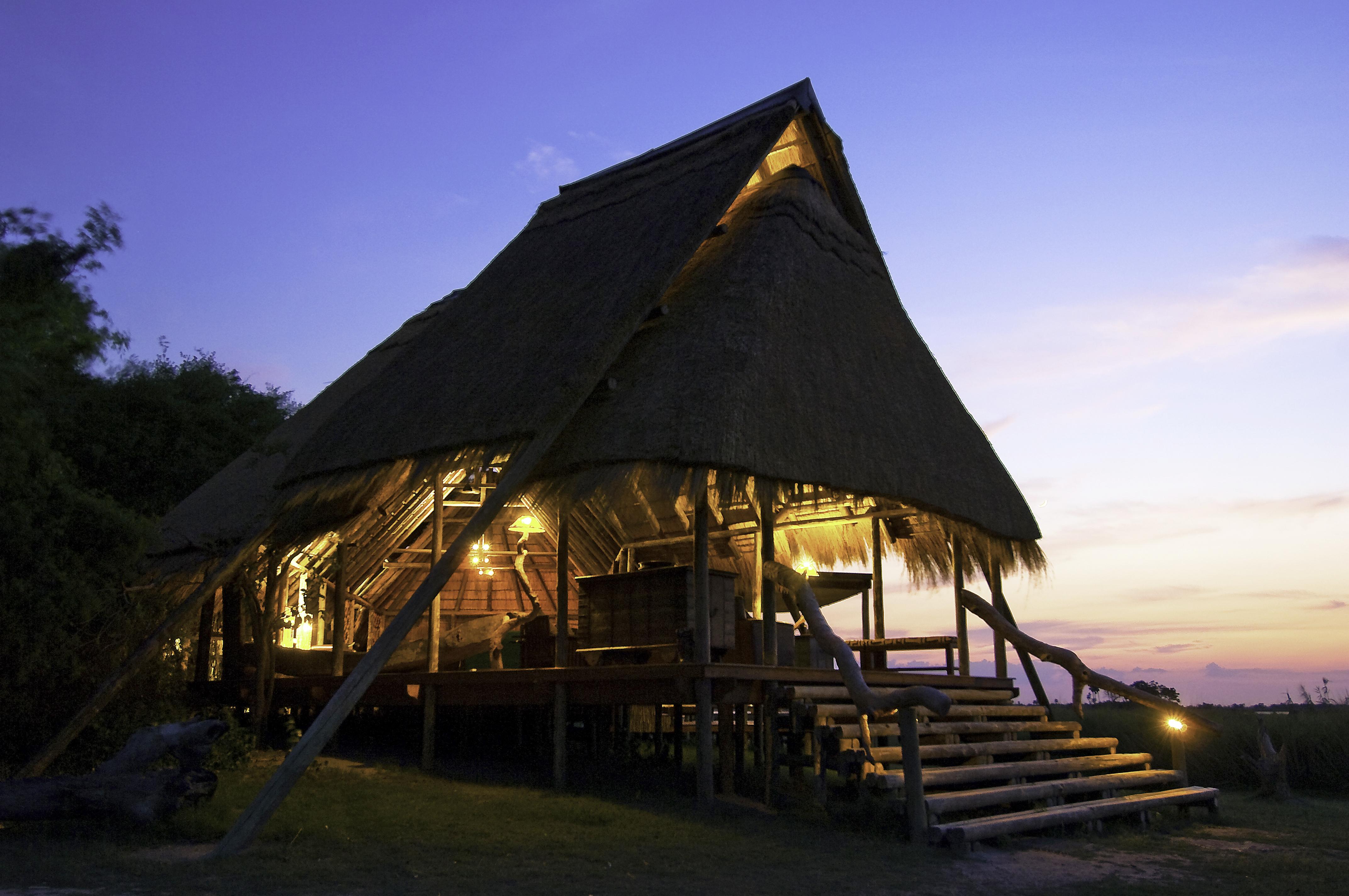Selinda Camp Botswana Sunset