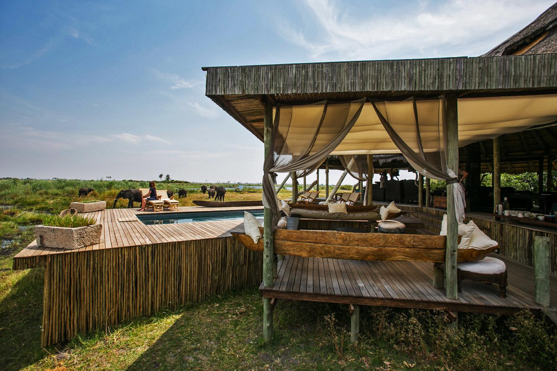 Selinda Camp Botswana Deck
