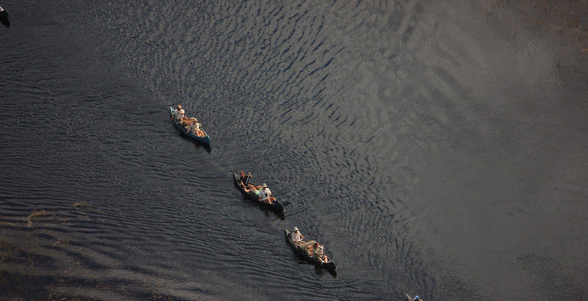 Botswana-Selinda-Canoe-Trail-Aerial