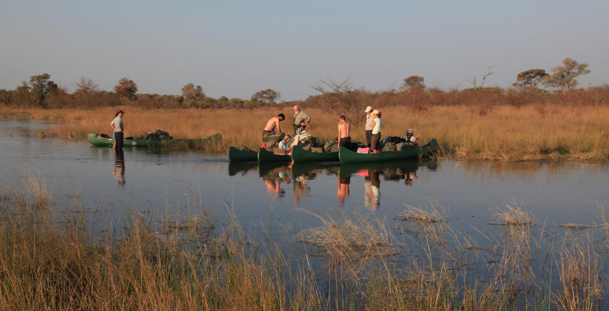 SelindaCanoeTrail Botswana Water