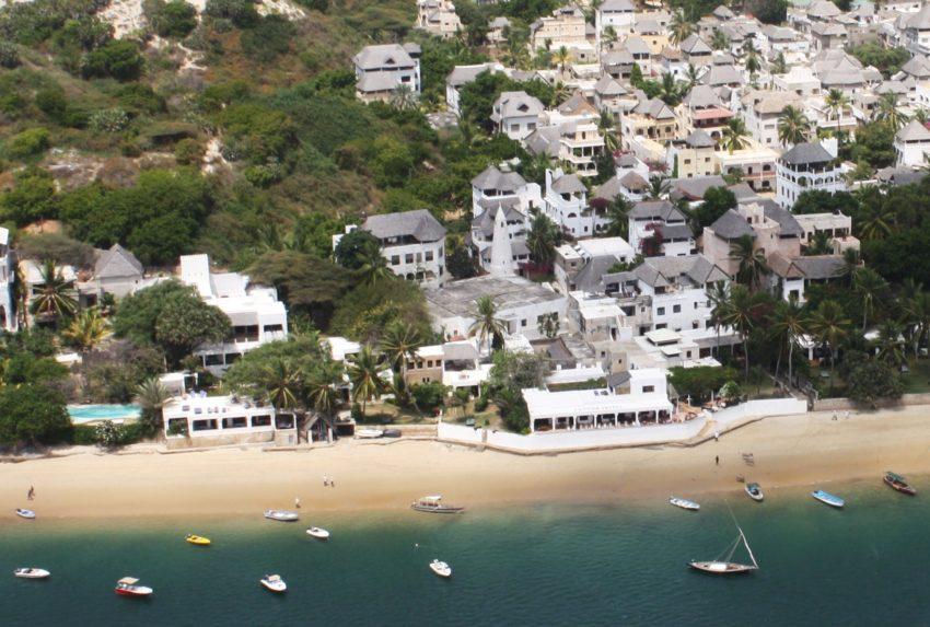 Aerial Peponi Hotel Kenya