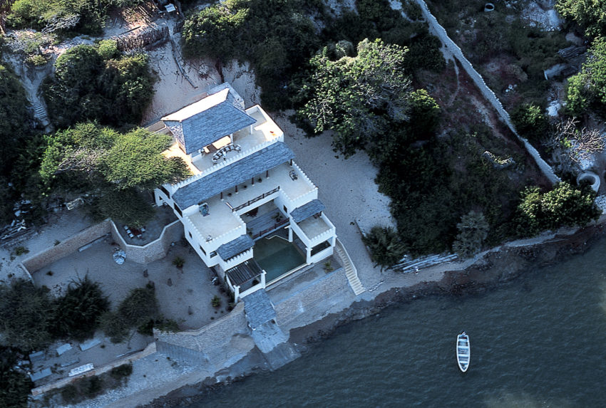 Beach-House-Kenya-Aerial