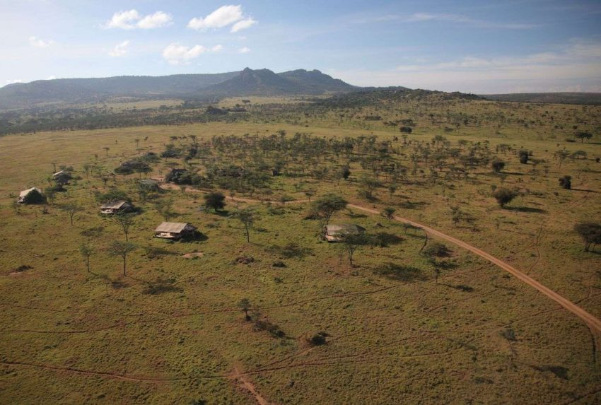 Enasoit Kenya Camp Aerial