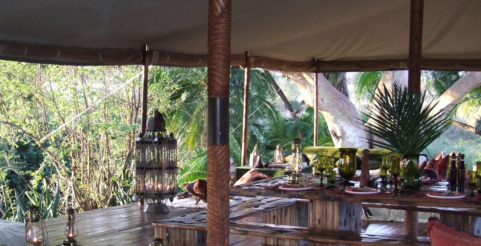 Lemartis Camp Kenya Living Room