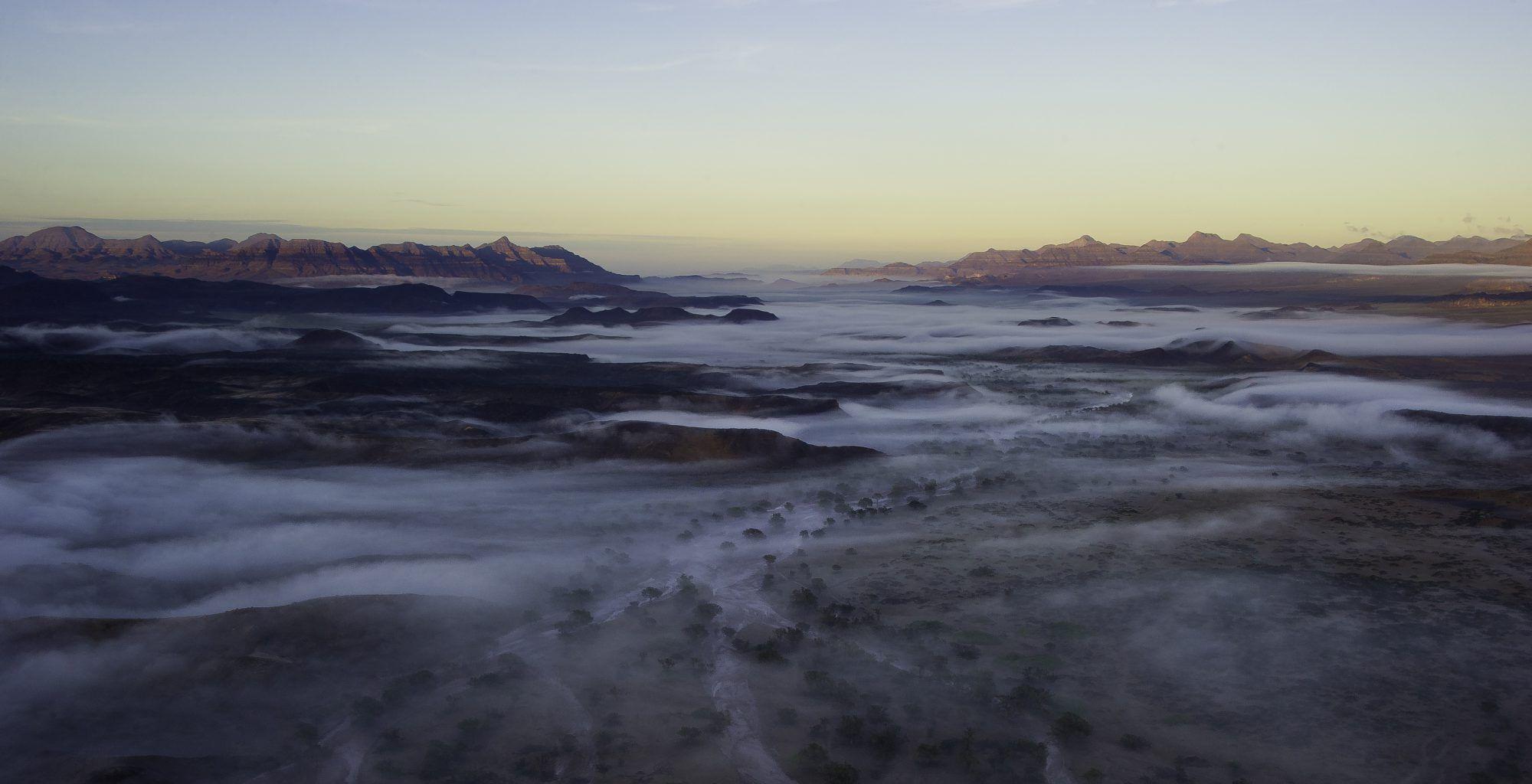 Namibia-Landscape-Sunset