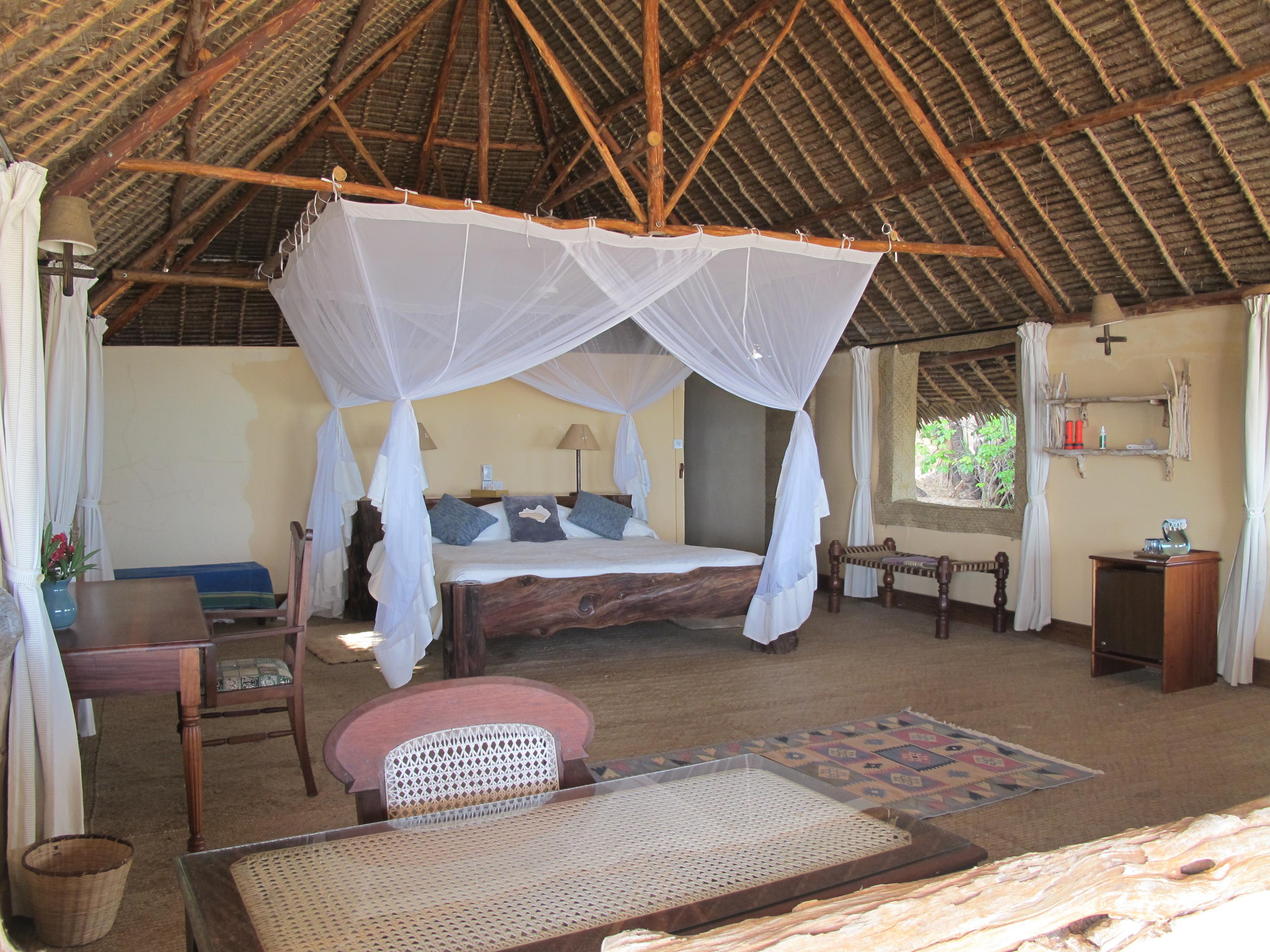 Manda Bay Lodge Kenya Bedroom