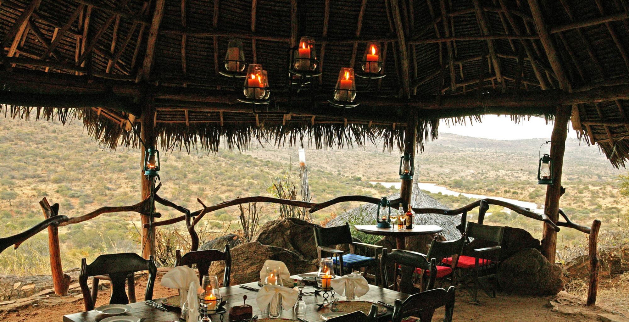 Loisaba Starbeds Kenya Living Area