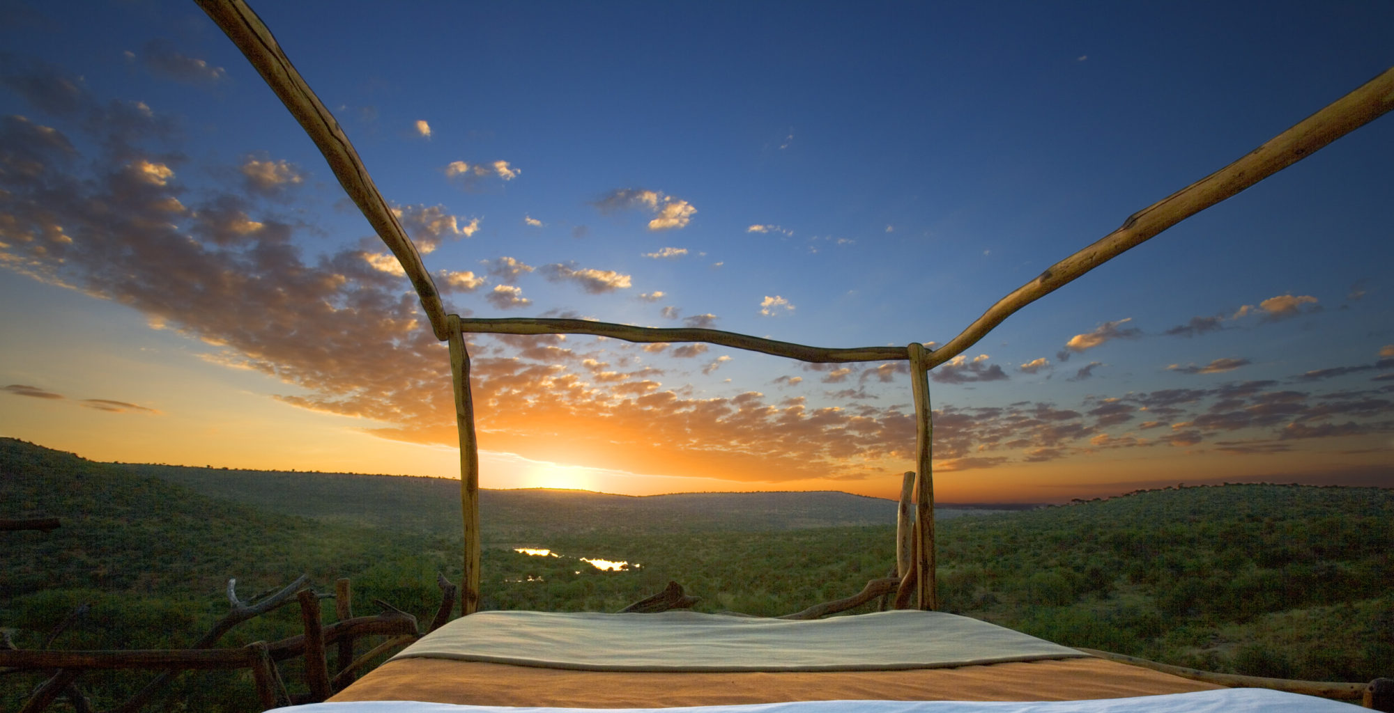 Loisaba Starbeds Kenya Bed View