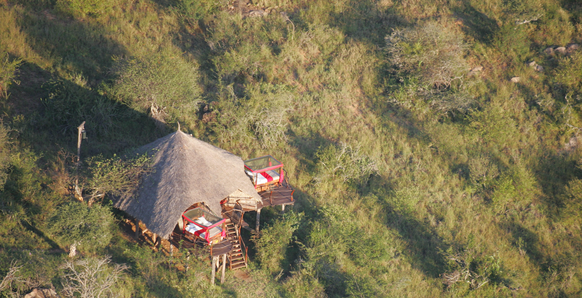 Loisaba Starbeds Kenya Aerial