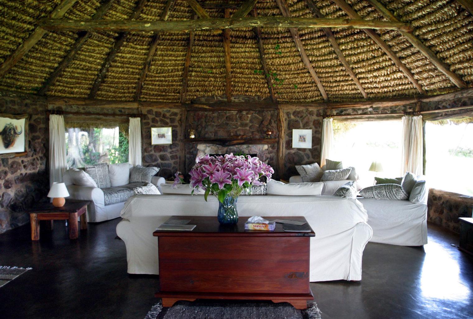 Lewa-House Living Area