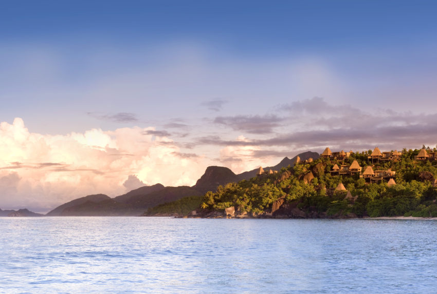 Maia Island in the Seychelles