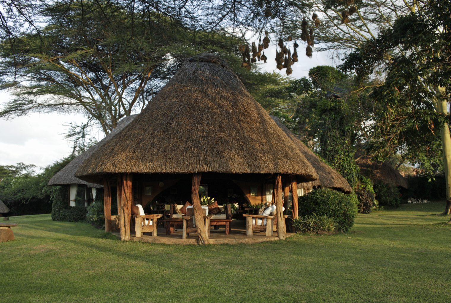 Lewa-House Veranda
