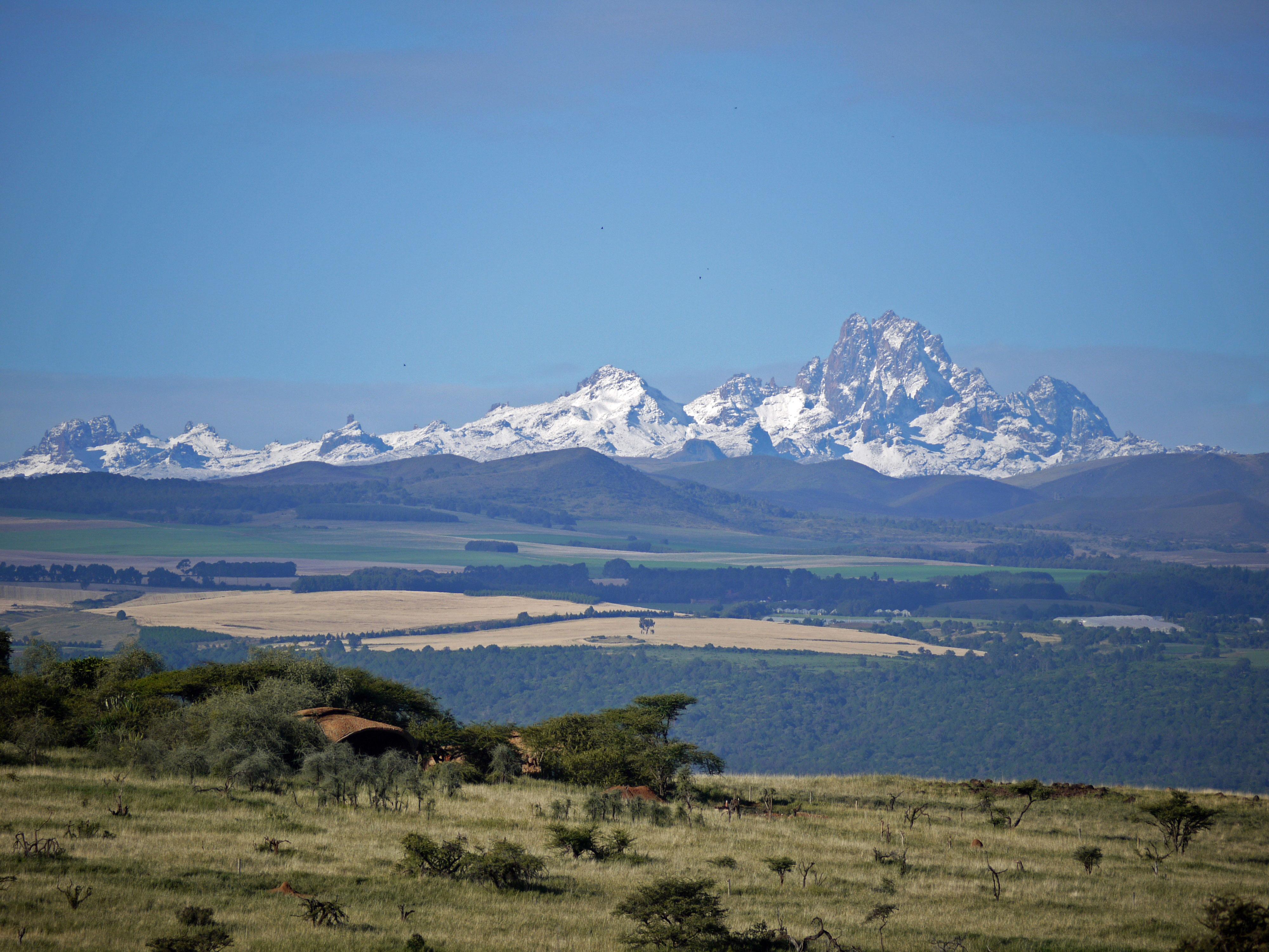 Lewa-House View Mt Kenya