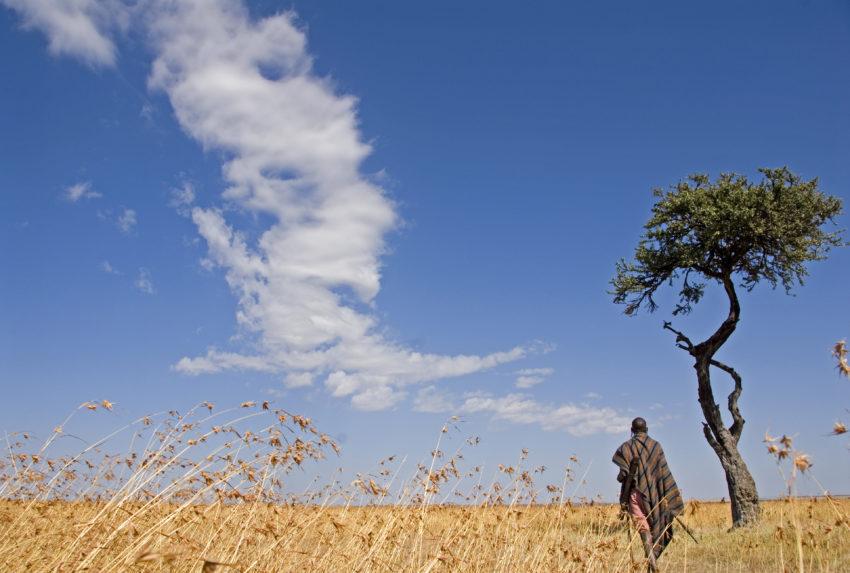 Olseki Ndorobo tracker walking