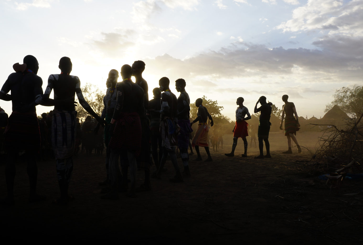 Kara dancing in the Omo Valley by Will Jones