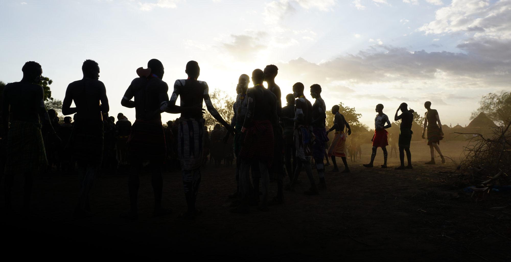 Kara dancing in the Omo Valley by Will Jones
