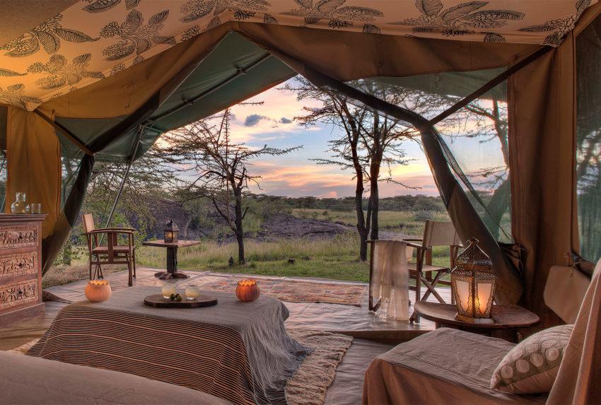 Richard-Private-Camp-tent-interior
