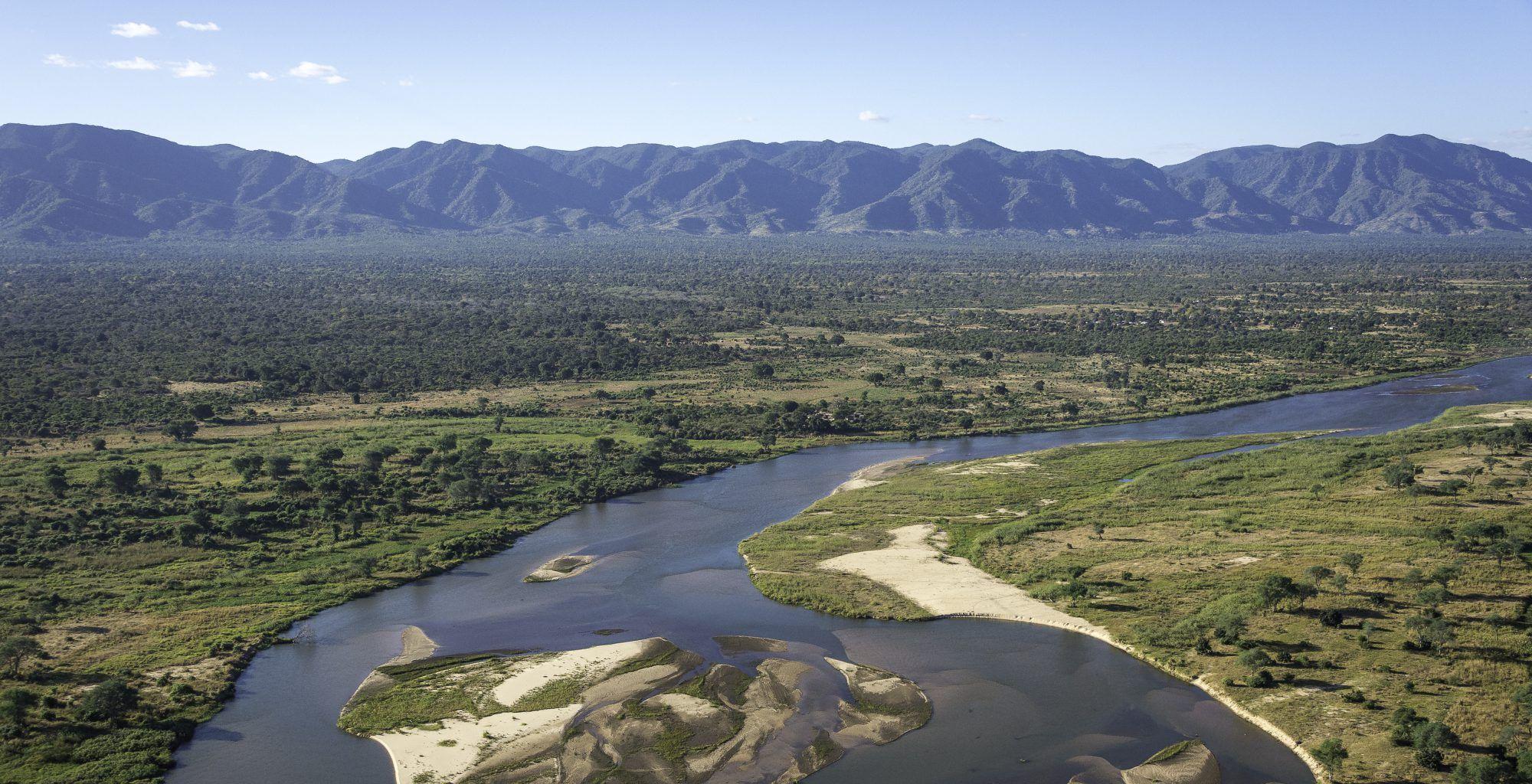 Zimbabwe-Ruckomechi-Landscape-Aerial