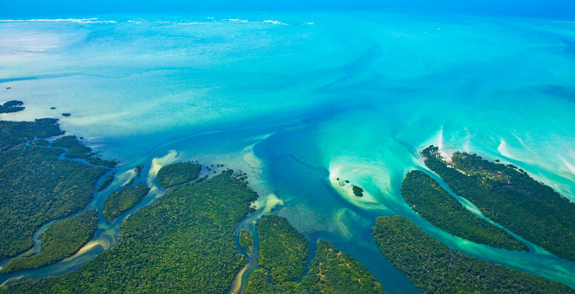 Mozambique-Quirimbas-Archipelago-Aerial