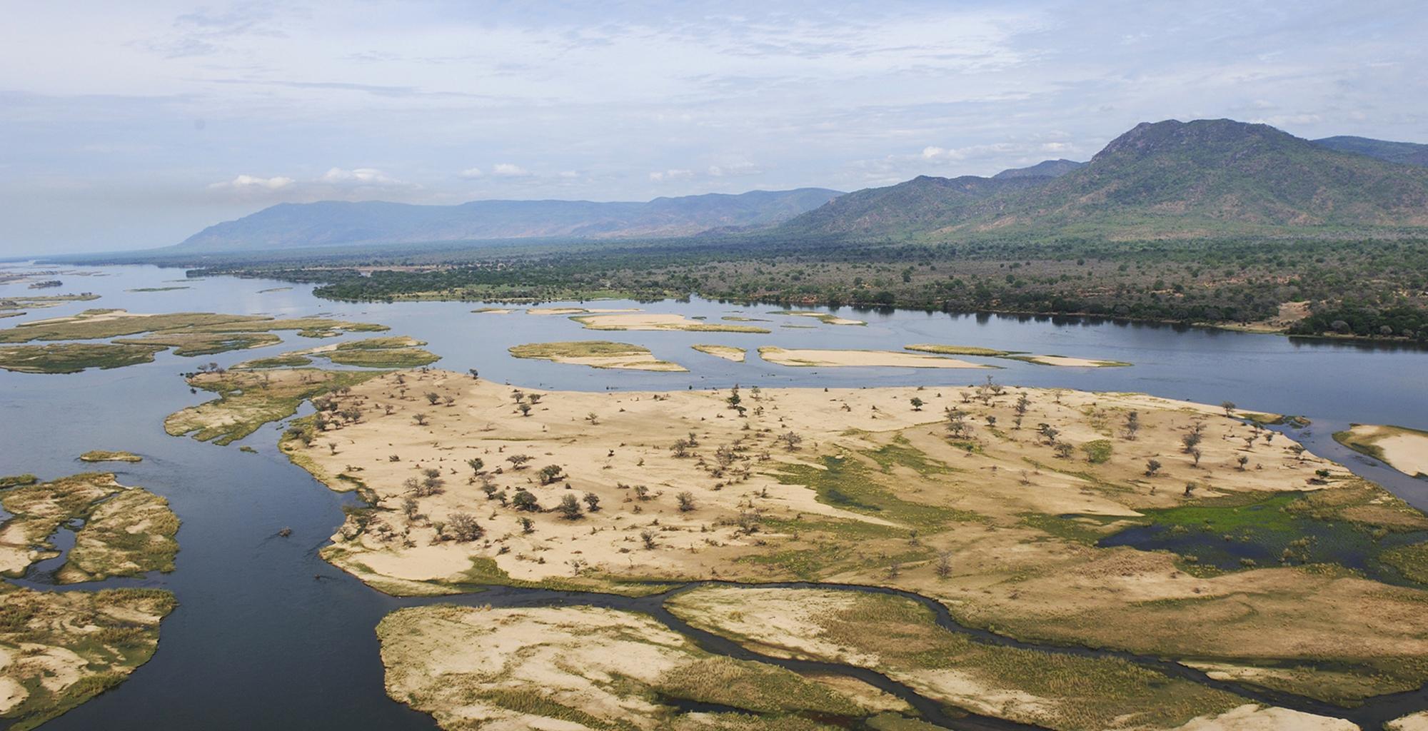 Zambia-Landscape-Aerial