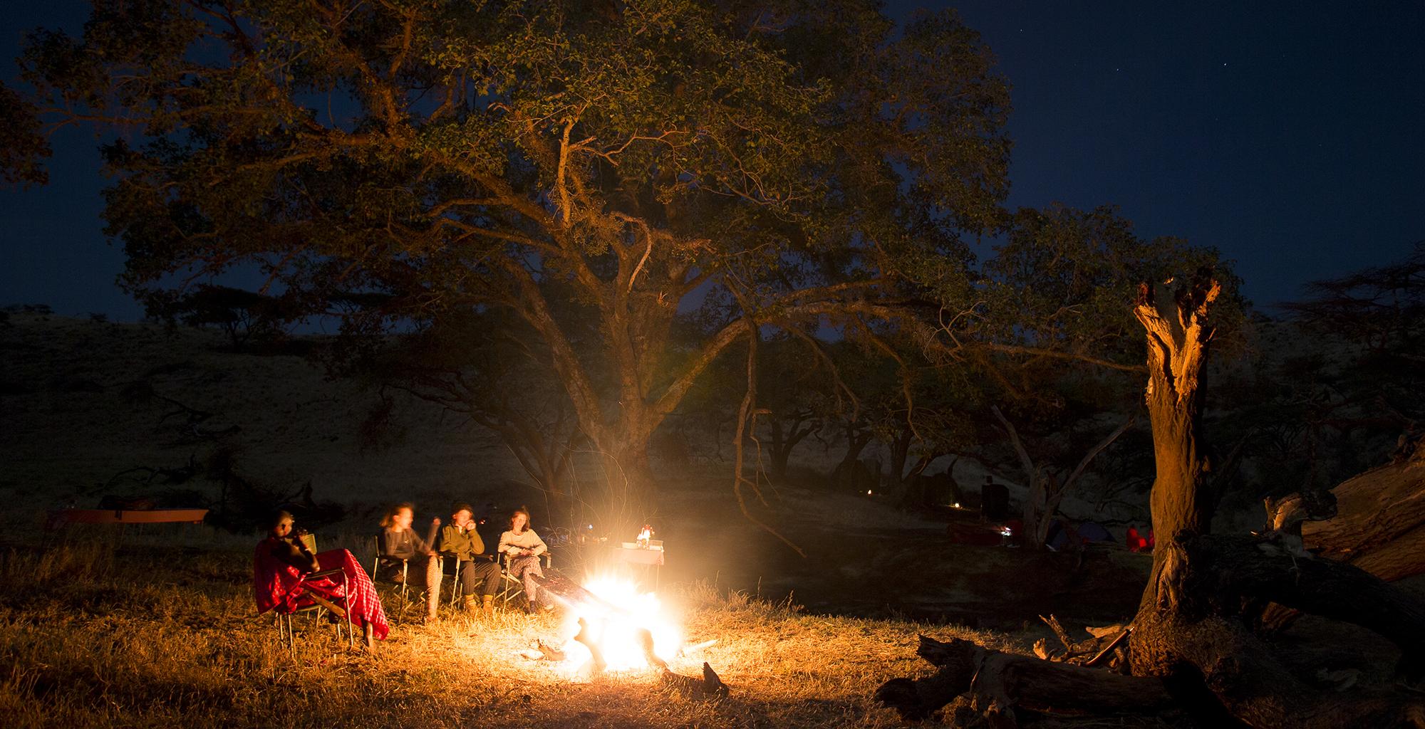 Kenya-Walking-Wild-Campfire