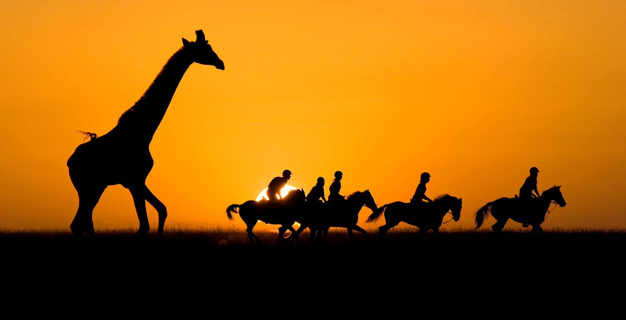 Ride-Kenya-Sunset