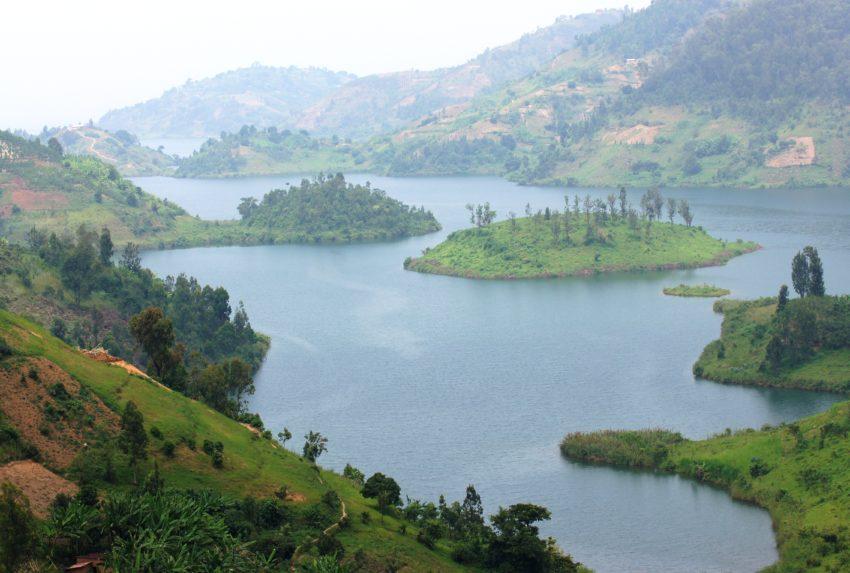 Lake Kivu Aerial Hero