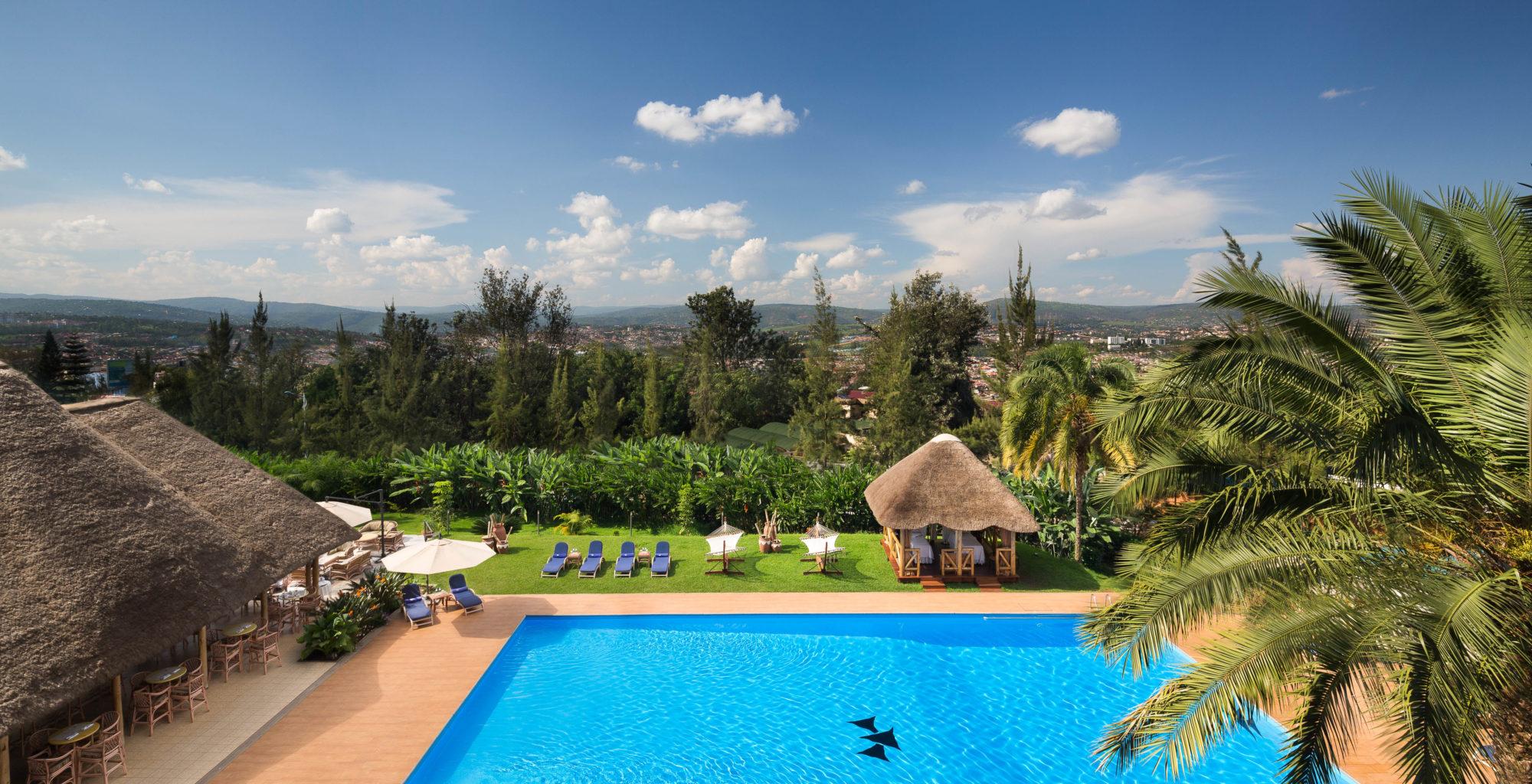 Hotel Mille Collines Rwanda Pool