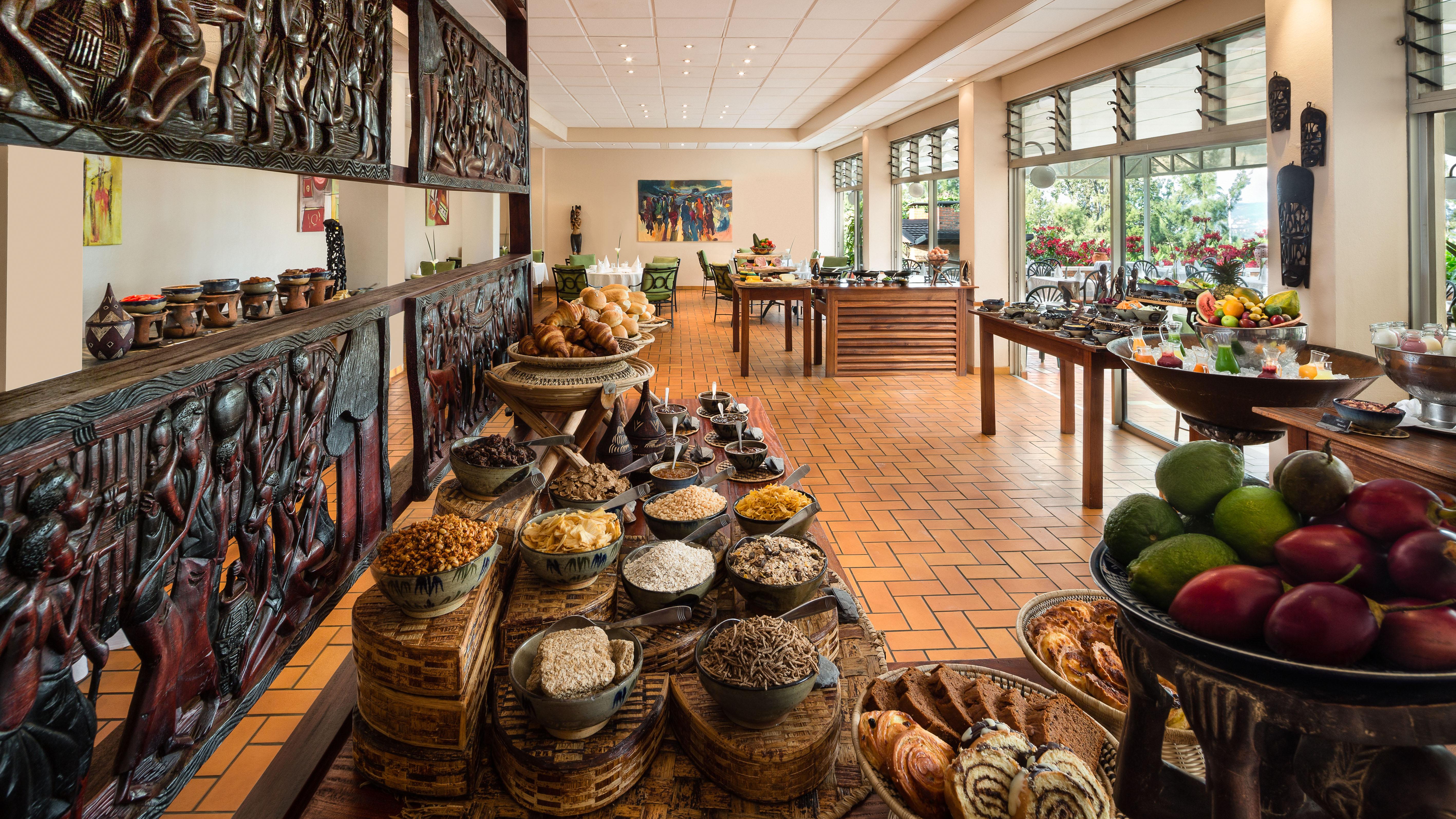 Hotel Mille Collines Rwanda Breakfast