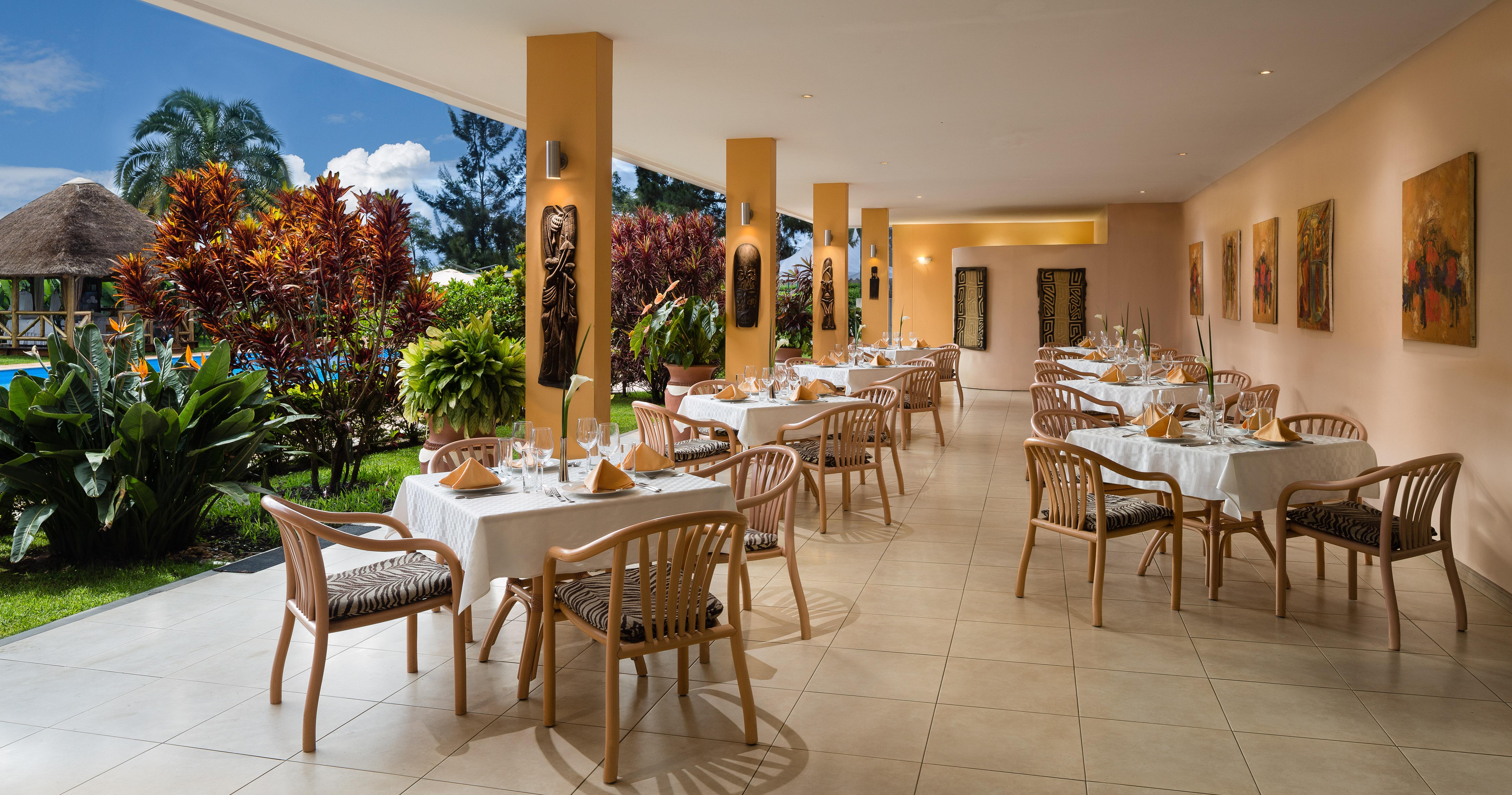 Hotel Mille Collines Rwanda Terrace