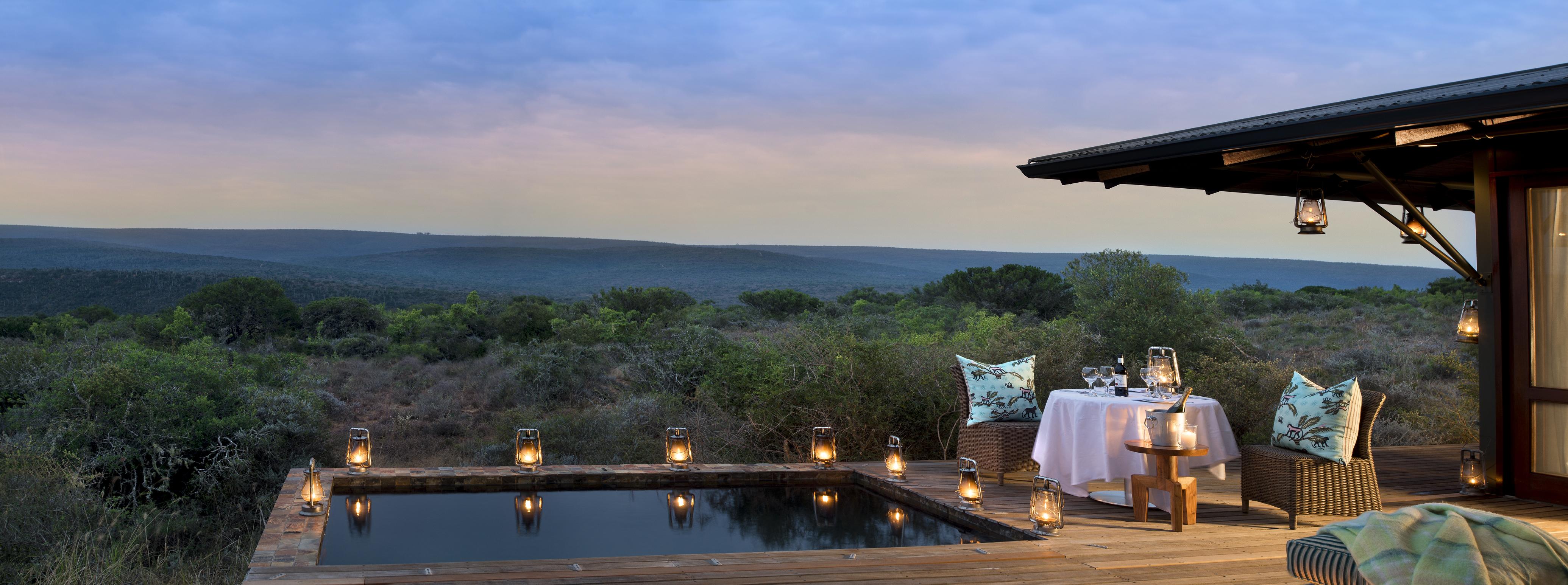 Ecca Lodge South Africa Exterior Dinner