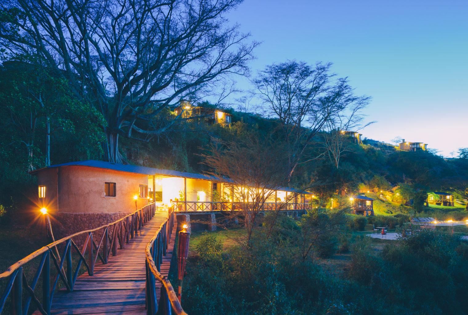 Emakoko Kenya Exterior Night